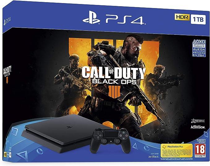 PlayStation 4 (PS4) - Consola de 1 TB + Call Of Duty Black Ops IV: Sony: Amazon.es: Videojuegos