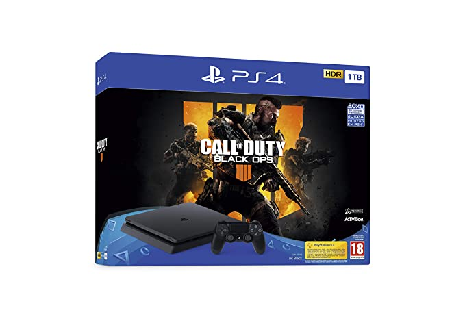 PlayStation 4 (PS4) - Consola de 1 TB + Call Of Duty Black ...