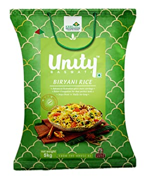 Unity Basmati Biryani Rice, 5kg