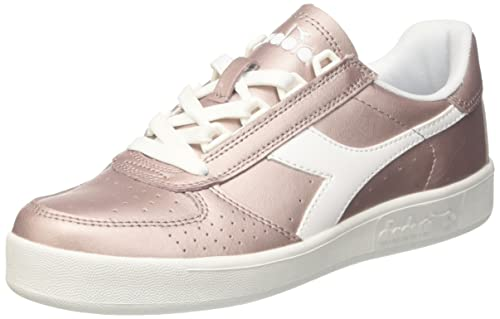 Diadora - Sneakers B.Elite L Metallic Wn per Donna IT 36 f41a55e738e