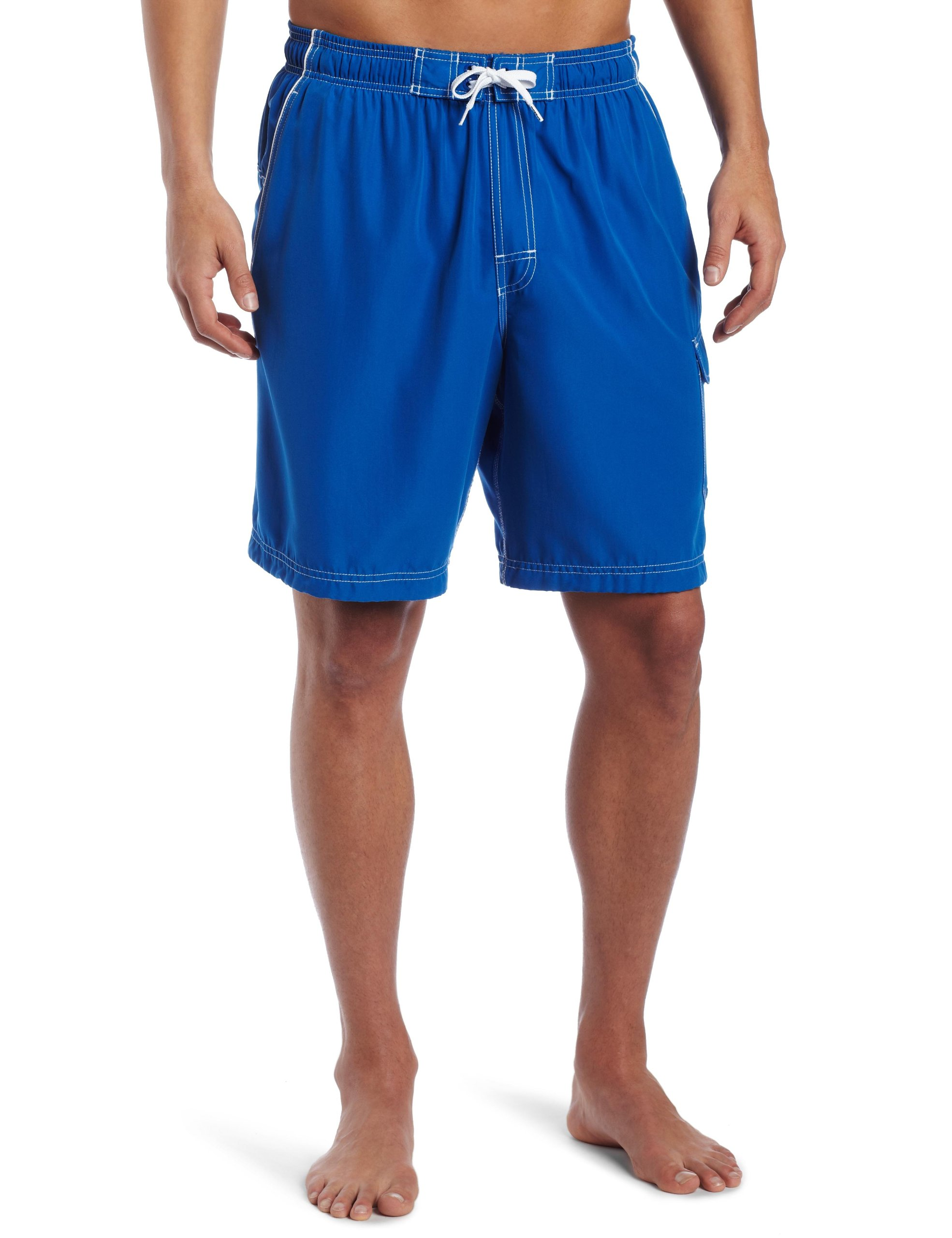 Speedo Men's Marina Core Basic Watershorts, Big & Tall, Classic Blue, 4X