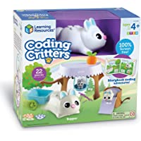 Learning Resources LER3089 Coding Critters Bopper, Interactive STEM Coding Pet, Early Screen Free Coding Toy for…