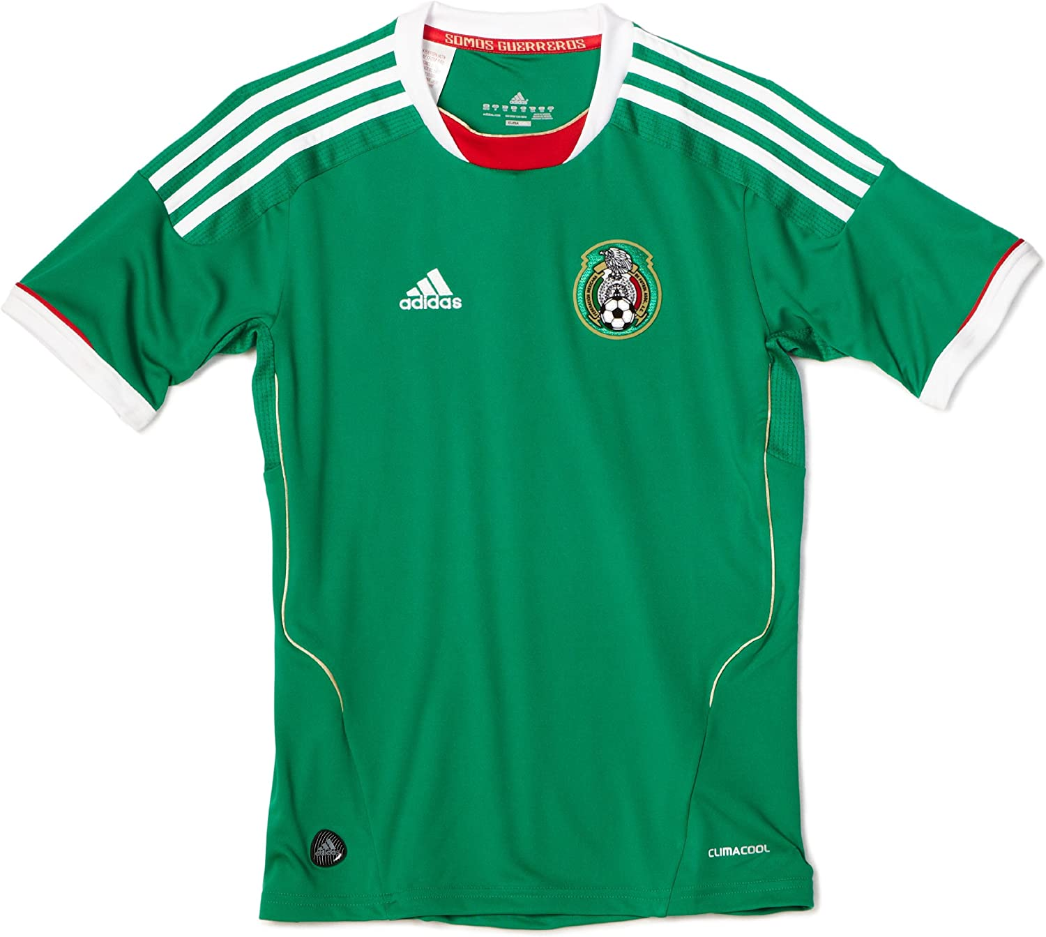 adidas Mexico Home Youth Soccer Jersey