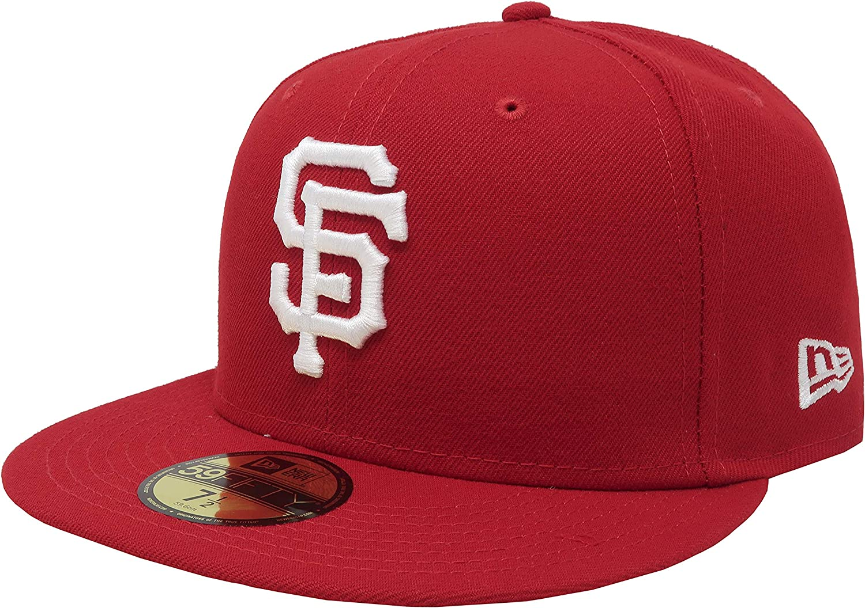 New Era San Francisco Giants Adjustable 9Fifty MLB Straight Brim Baseball Cap 950