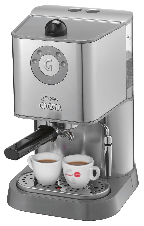 Electronic Baby Gaggia Coffee Machine gaggia baby twin ri815940 coffee maker amazon co uk kitchen home