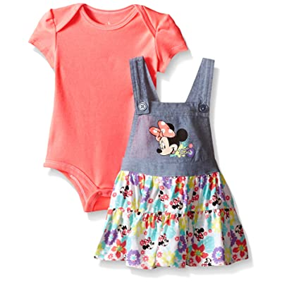Disney Baby Girls' Minnie Mouse Jumper Set (Pack of 2)