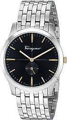 Salvatore Ferragamo Women's 'Slim Formal' Quartz Stainless Steel Watch, Color:Silver-Toned (Model: SFDF00318)