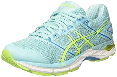 1d8b58f55aa4 ASICS Women s s Gel-Phoenix 8 Running Shoes (Aqua Splash Safety Yellow Diva