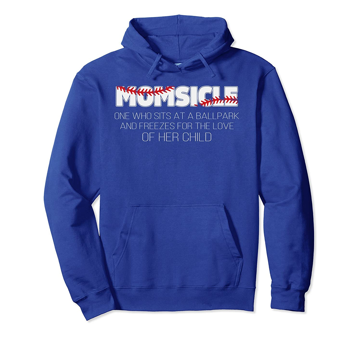 MomSicle funny baseball Pullover Hoodie-alottee gift
