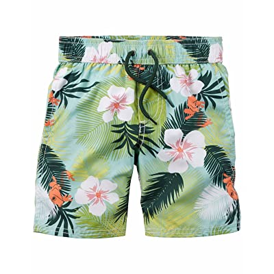 Carter's Boys' Flat Front Tropical Shorts