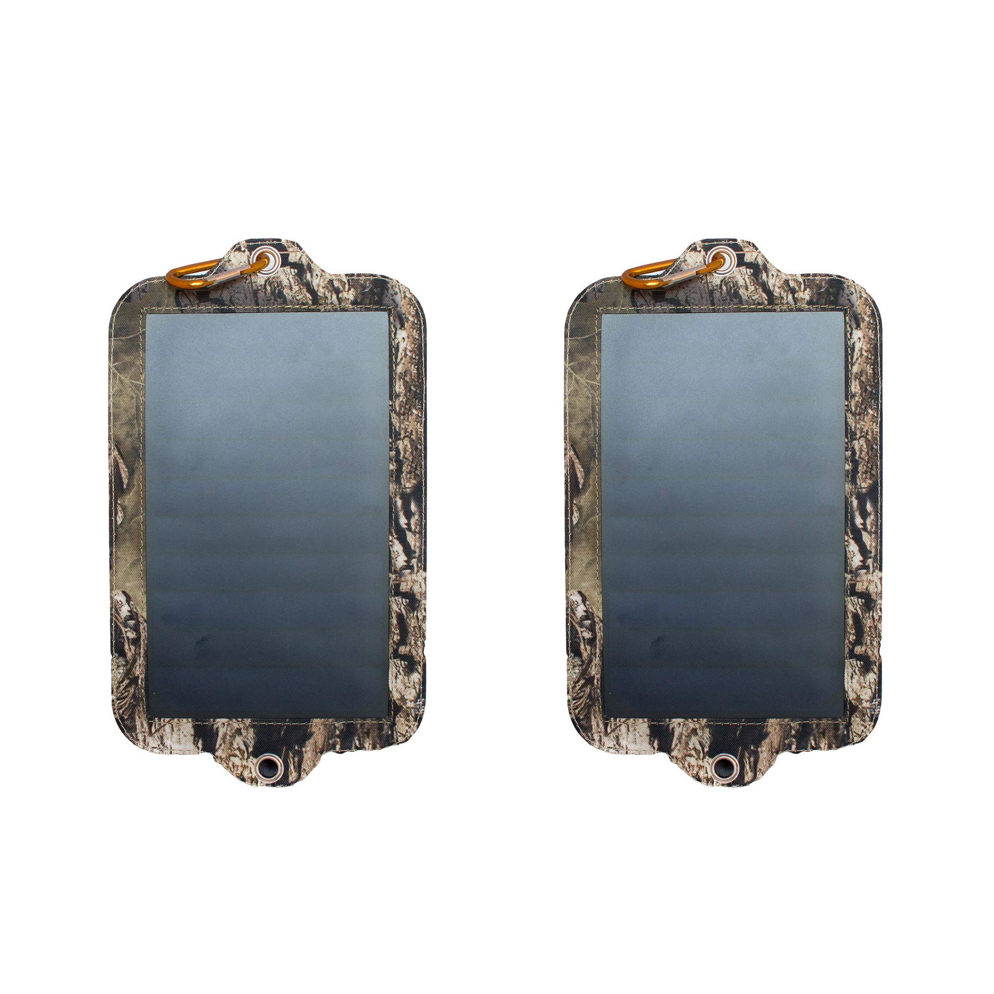 Covert Game Trail Camera Battery Replacement Solar Power Panel Charger (2 Pack) by Covert