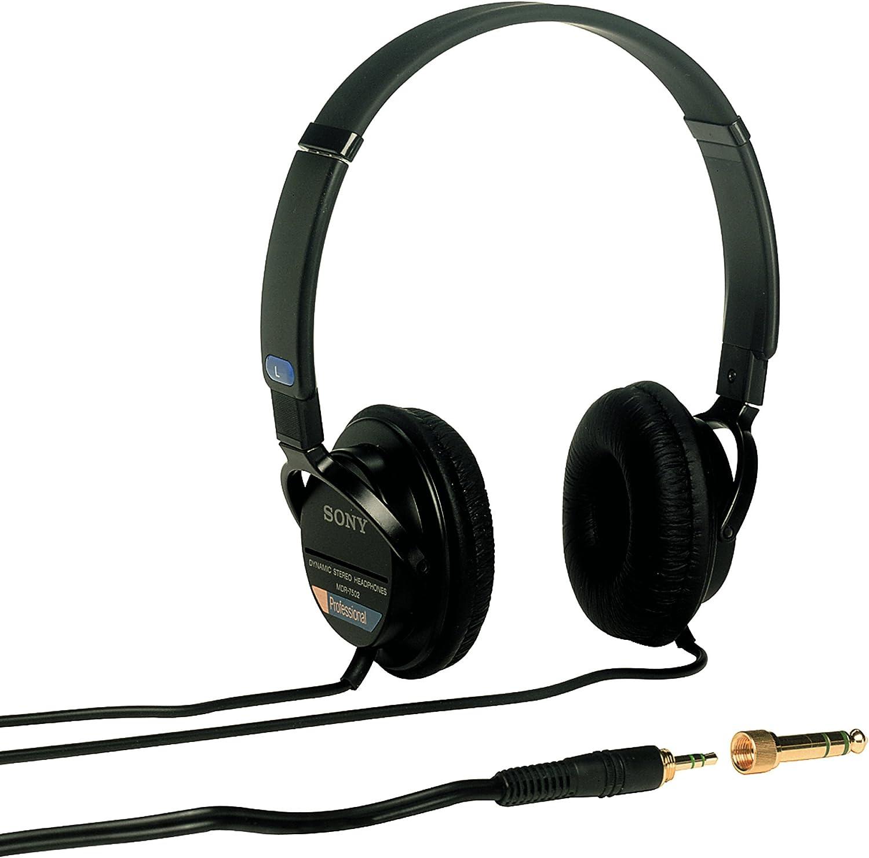 Sony MDR7502 Professional Studio Headphones, Black