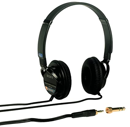 61c61811bd5 Amazon.com: Sony MDR7502 Professional Studio Headphones, Black ...
