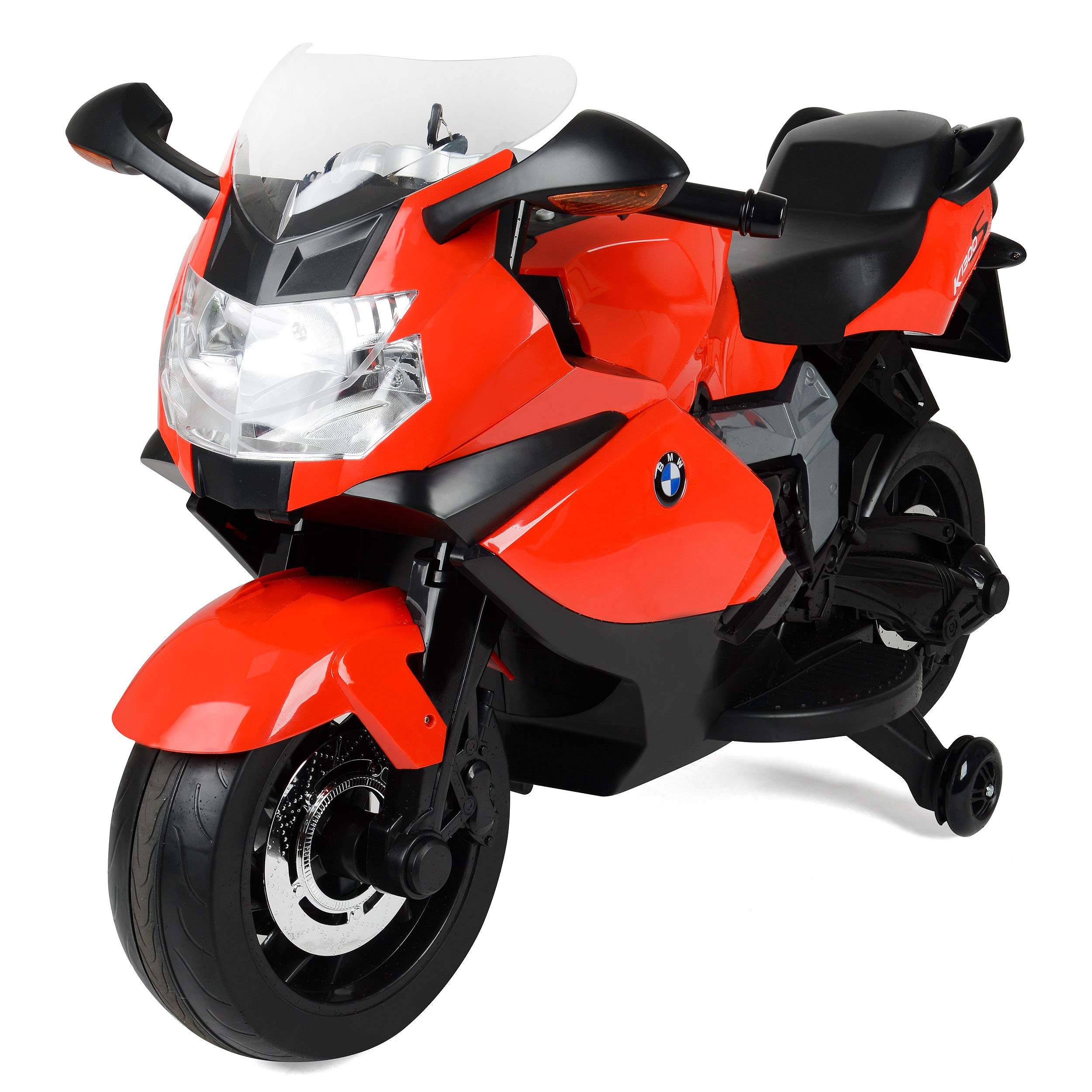 Xootz Bmw Official Licensed Electric Ride On Motorbike For Kids With Headlights And Sound Effects Red Buy Online In Indonesia At Desertcart Id Productid 51905979