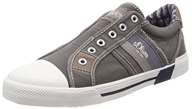 sneakers for cheap a4724 85a17 s.Oliver Herren 14603 Sneaker, Grau (Grey), 41 EU: Amazon.de ...