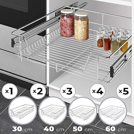 Télescope Tiroir De Cuisine Tiroir télescopique tiroir 60 cm armoires