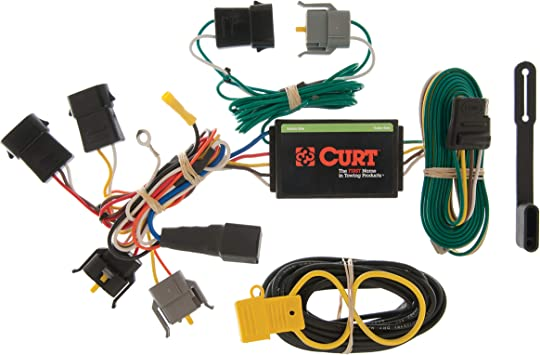 Amazon.com: CURT 55366 Vehicle-Side Custom 4-Pin Trailer Wiring Harness for  Select Ford Windstar: AutomotiveAmazon.com
