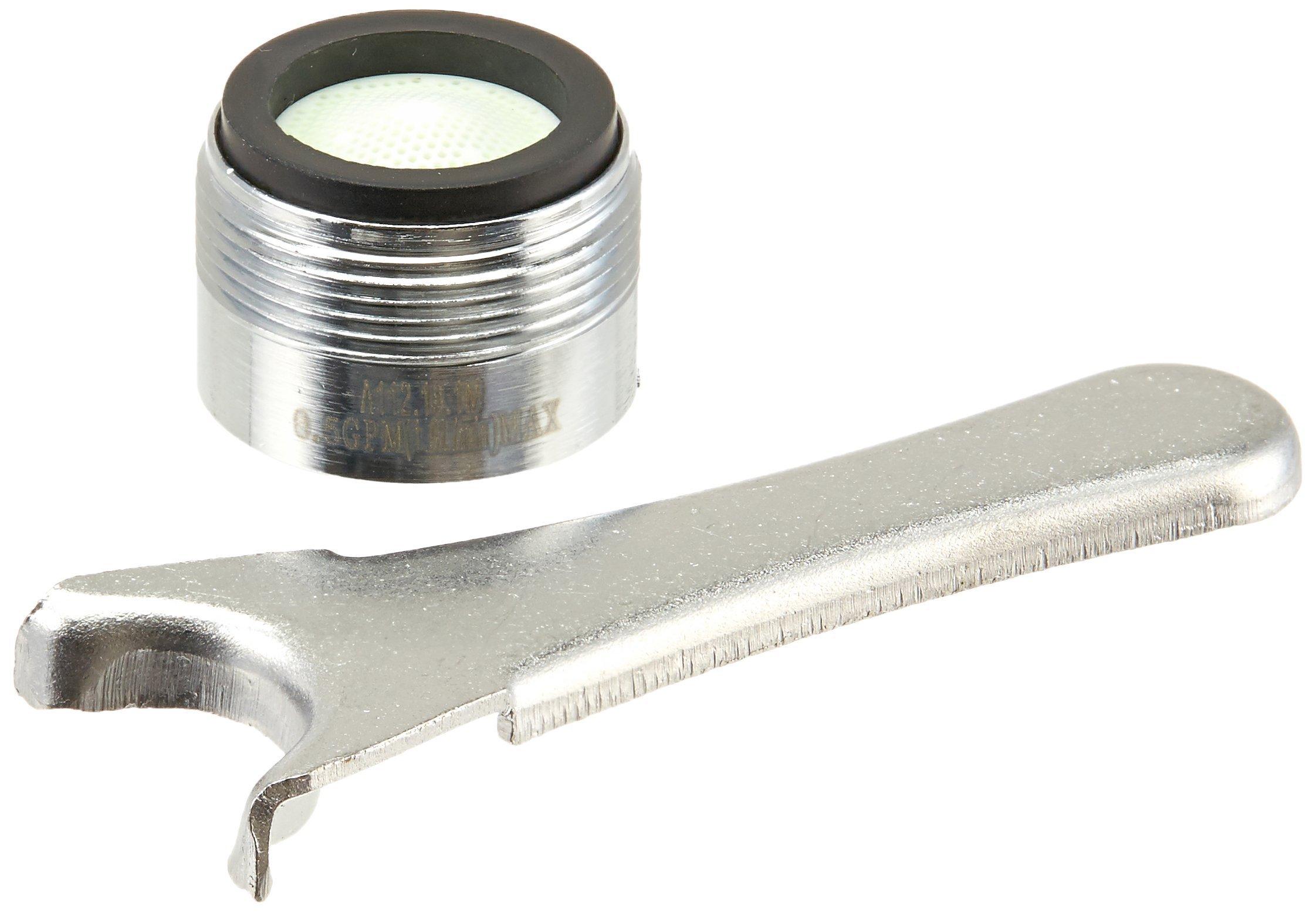 Danze DA613075N Junior Male Spray Faucet Aerator Kit, 0.5 GPM, Chrome