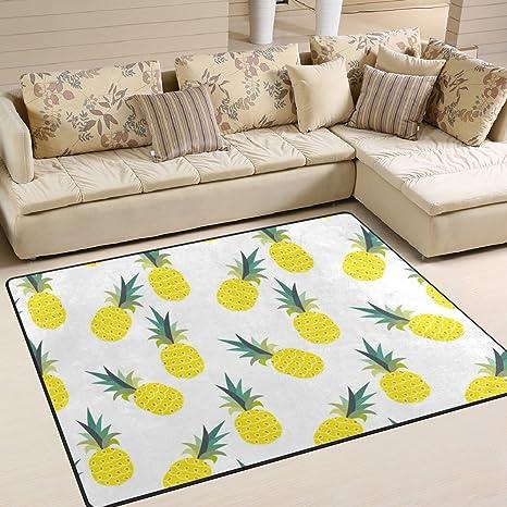 Amazon.com: ALAZA suave interior moderno pineapplearea ...