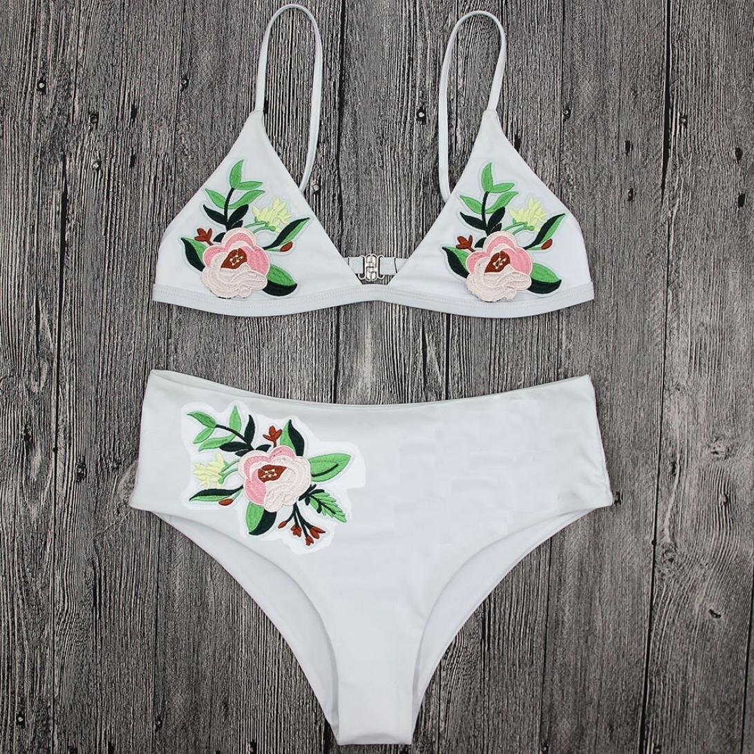 177f5f46f09 ... RAISINGTOP Swimsuit High Waist Two Piece Bikinis Set Sexy Swimwear  Printing Push Up Swimsuit Push Up ...