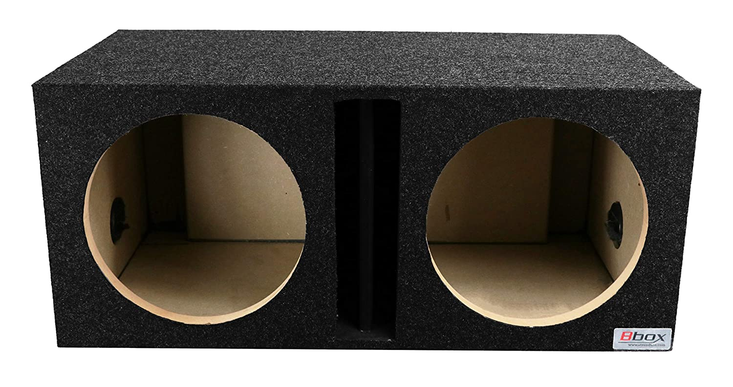 Atrend E10D B Box Series 10-Inch Dual Sealed Bass Boxes
