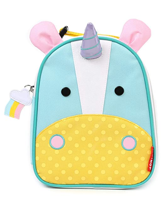 Skip Hop Zoo Kids Insulated Lunch Box, Eureka Unicorn, Multi