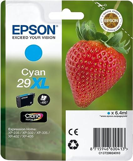 Epson Original 29xl Tinte Erdbeere Xp 235 Xp 332 Xp 335 Xp 432 Xp 435 Xp 245 Xp 342 Xp 345 Xp 442 Xp 445 Xp 247 Xp 257 Xp 255 Xp 352 Xp 355 Xp 452 Xp 455 Cyan Bürobedarf Schreibwaren