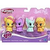 My Little Pony Playskool Friends Figure, Pack of 4