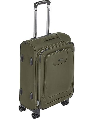 c458fe050 AmazonBasics Premium Expandable Softside Spinner Luggage with TSA Lock