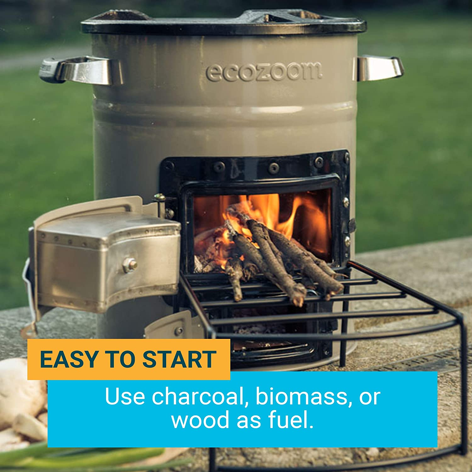 Ecozoom Zoom Versa Rocket Stove Wood Biomass Or Charcoal Fuel Another Diagram Build Pinterest Sports Outdoors