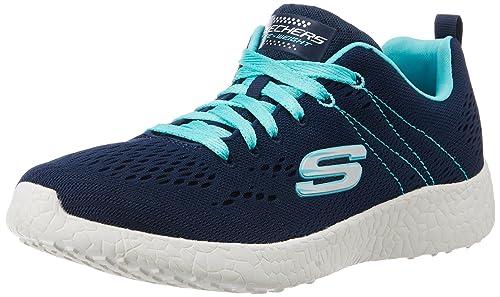 1f25378764ea Skechers Men s Burst Navy and Light Blue Nordic Walking Shoes - 3 UK India (