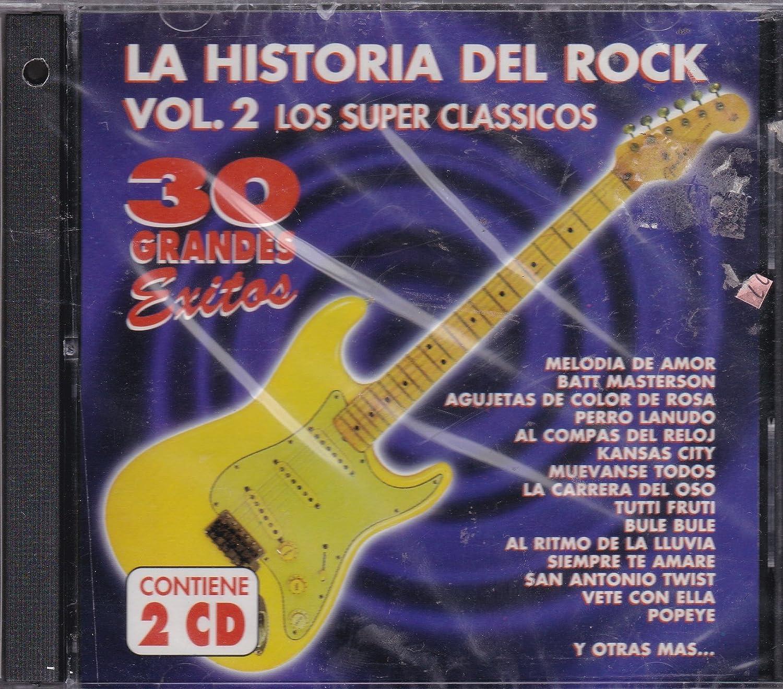 La Historia Del Rock - 30 Grandes Exitos: La Historia Del Rock Vol 2 30 Exitos - Amazon.com Music