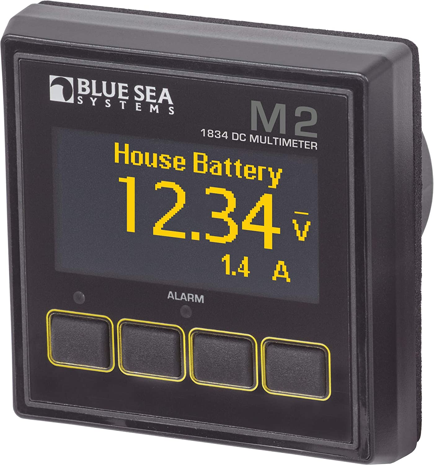 Blue Sea Systems M2 OLED AC Amperage Meter Blue Sea Systems - Sports 1836