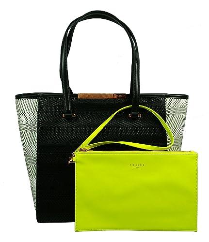 585ef24ba0 Ted Baker Natasha Woven Large Shopper Bag Mid Green: Amazon.co.uk: Shoes &  Bags