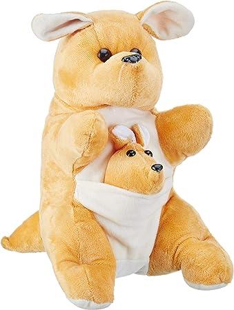 Deals India Mother and Baby Kangaroo, Beige