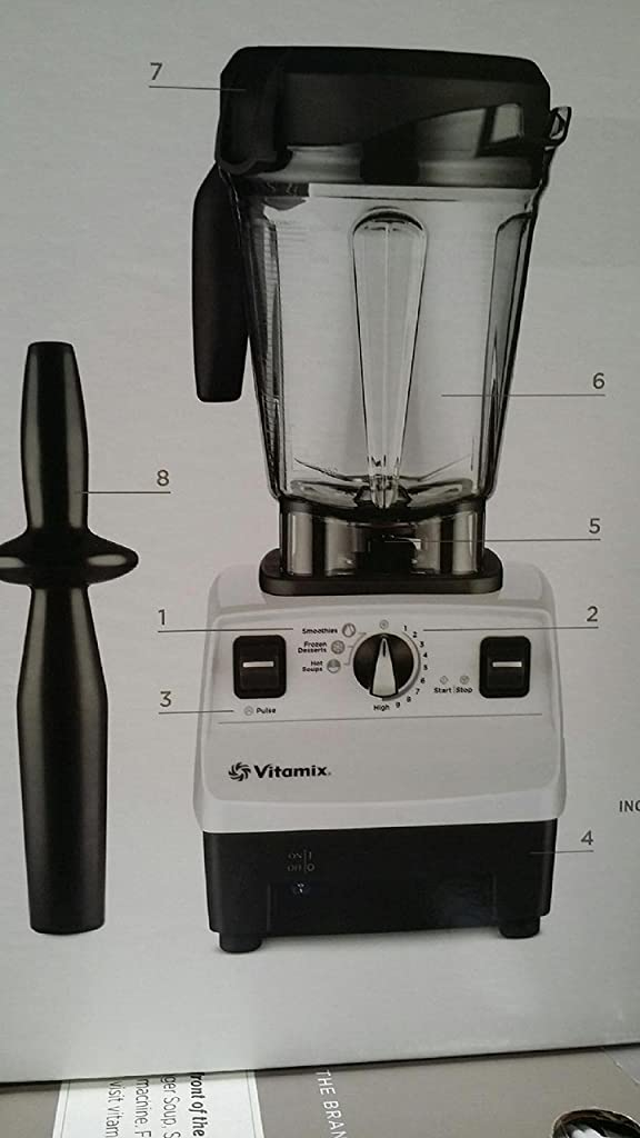 Vitamix 6500 Improved 6300 More Powerful