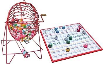 Bombo Manual de Bingo Grande  Amazon.es  Juguetes y juegos 4c030ece4b8a9