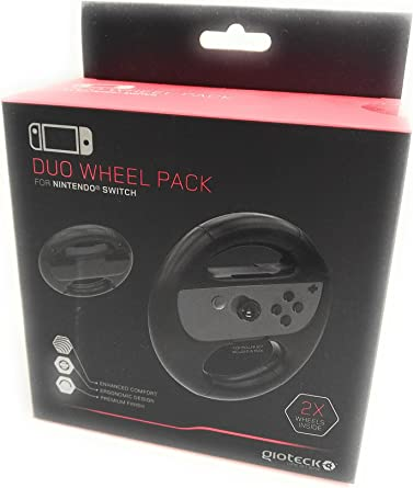 Gioteck - Duo Wheel Pack (Nintendo Switch): Amazon.es: Videojuegos