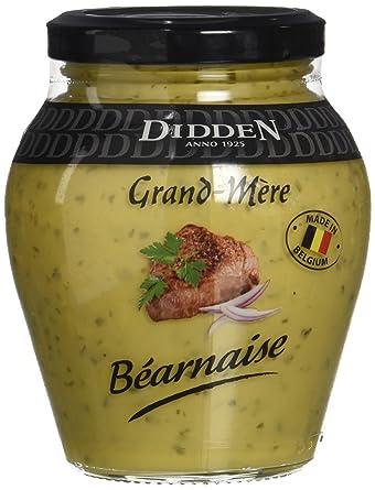 Didden Salsa Bearnesa - Paquete de 6 x 250 ml - Total: 1500 ml