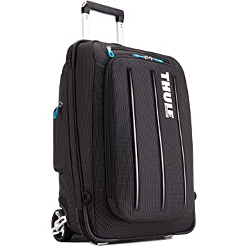 Amazon.com: Thule Crossover 38 Liter Rolling Carry-On with Laptop ...