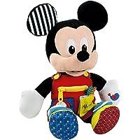 Baby Clementoni- Mickey Peluche Primeros apredizajes37x26 Mouse aprendizajes