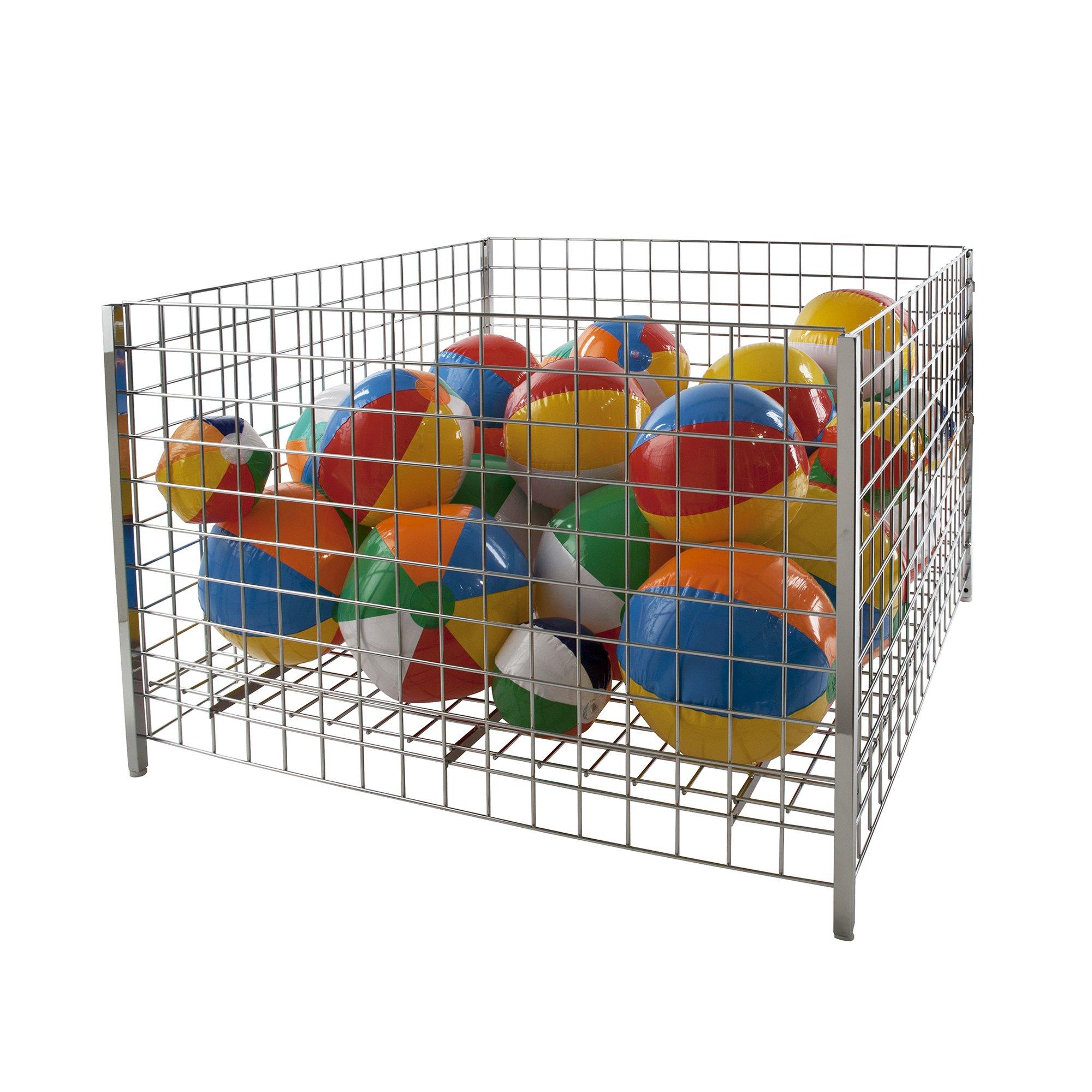 Econoco GTC48/C Grid Dump Bin, Square, 48''