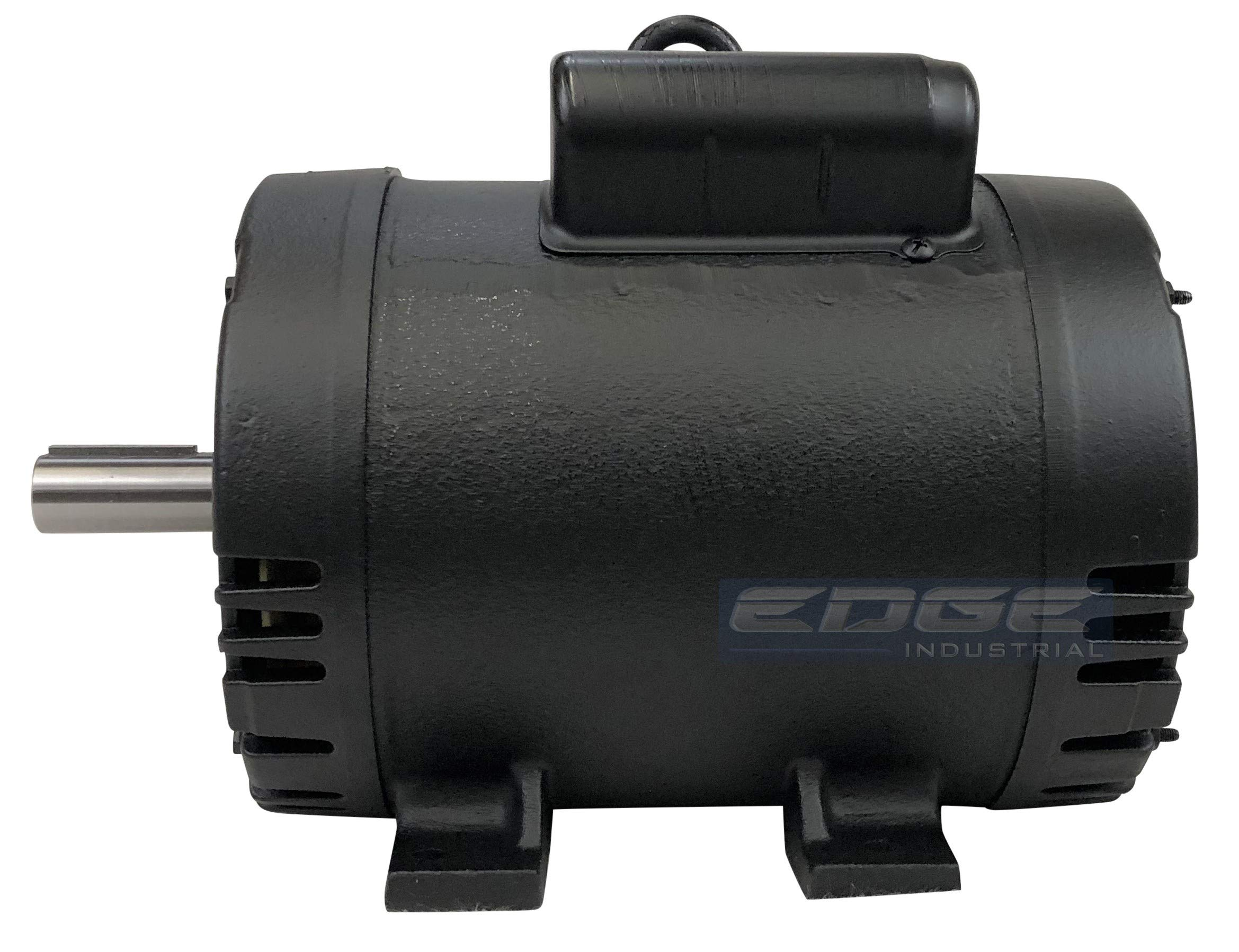 NEW 5HP 184T FRAME WEG ELECTRIC MOTOR FOR AIR COMPRESSOR 1750 RPM 230V 21.5 AMP by WEG (Image #6)