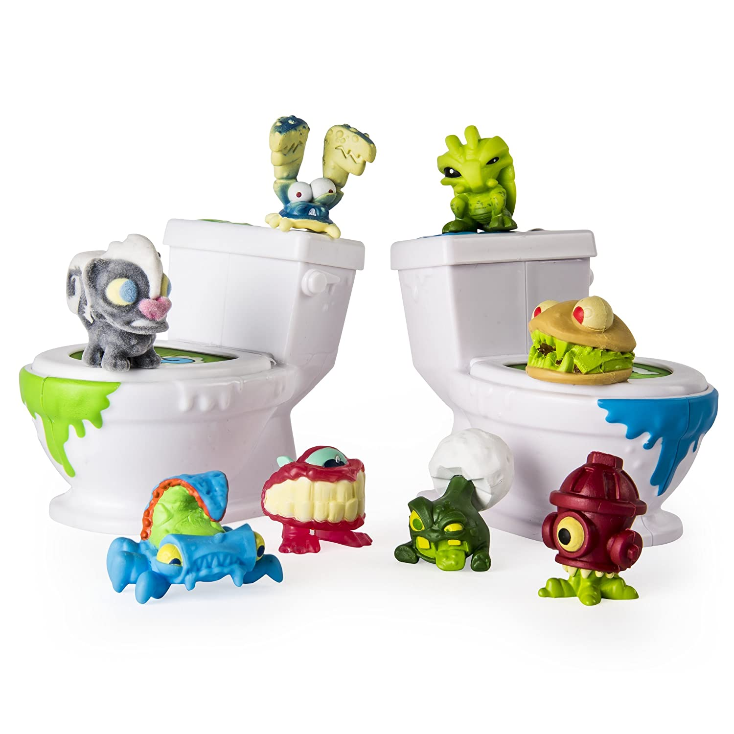Flush Force 6037316 Bizarre Bathroom, Multicolour Spin Master