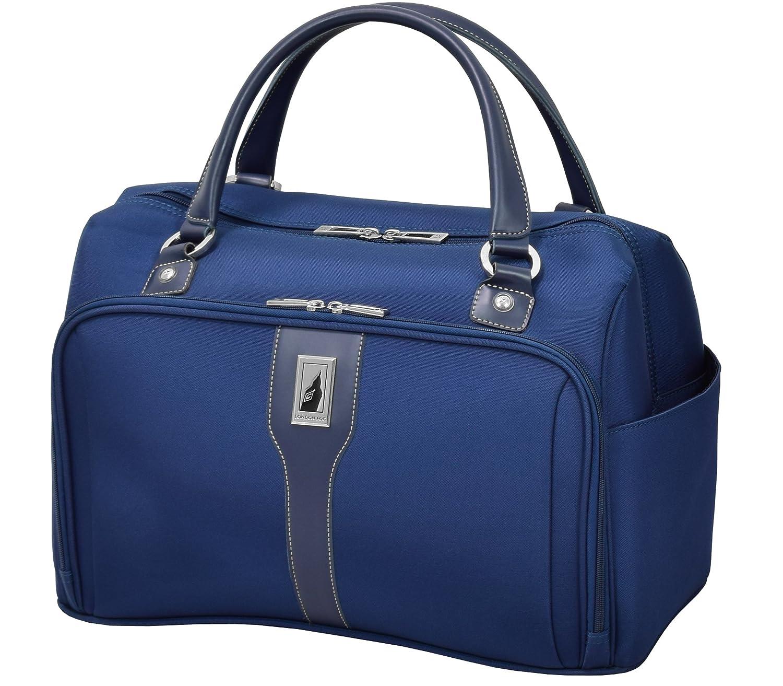 London Fog Knightsbridge Hl17 Cabin Bag, Grey/Navy Plaid Leisure Merchandising 8653