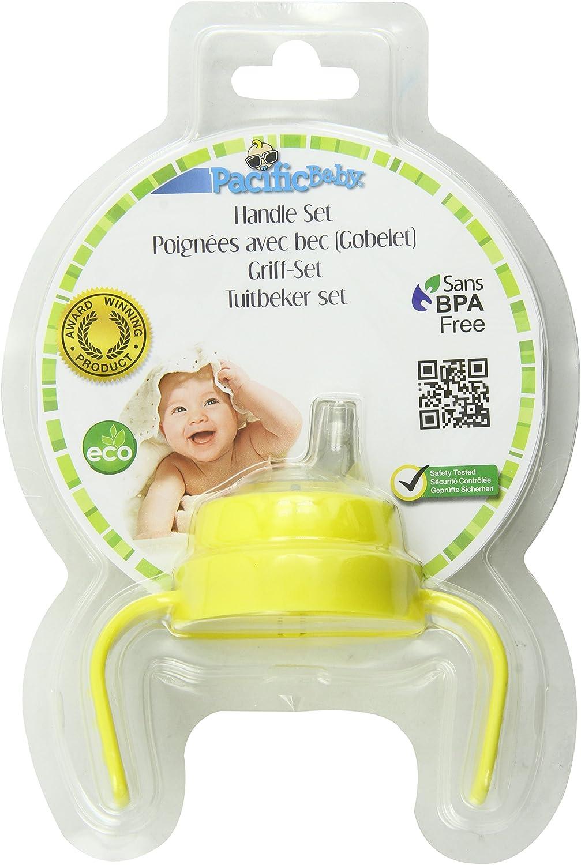 Accessoires poign/ées et bec souple pour biberons PACIFIC BABY