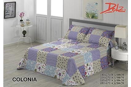 Dolz Bouti Colonia para cama de 90 cm en medida 180 x 270 cm + 1