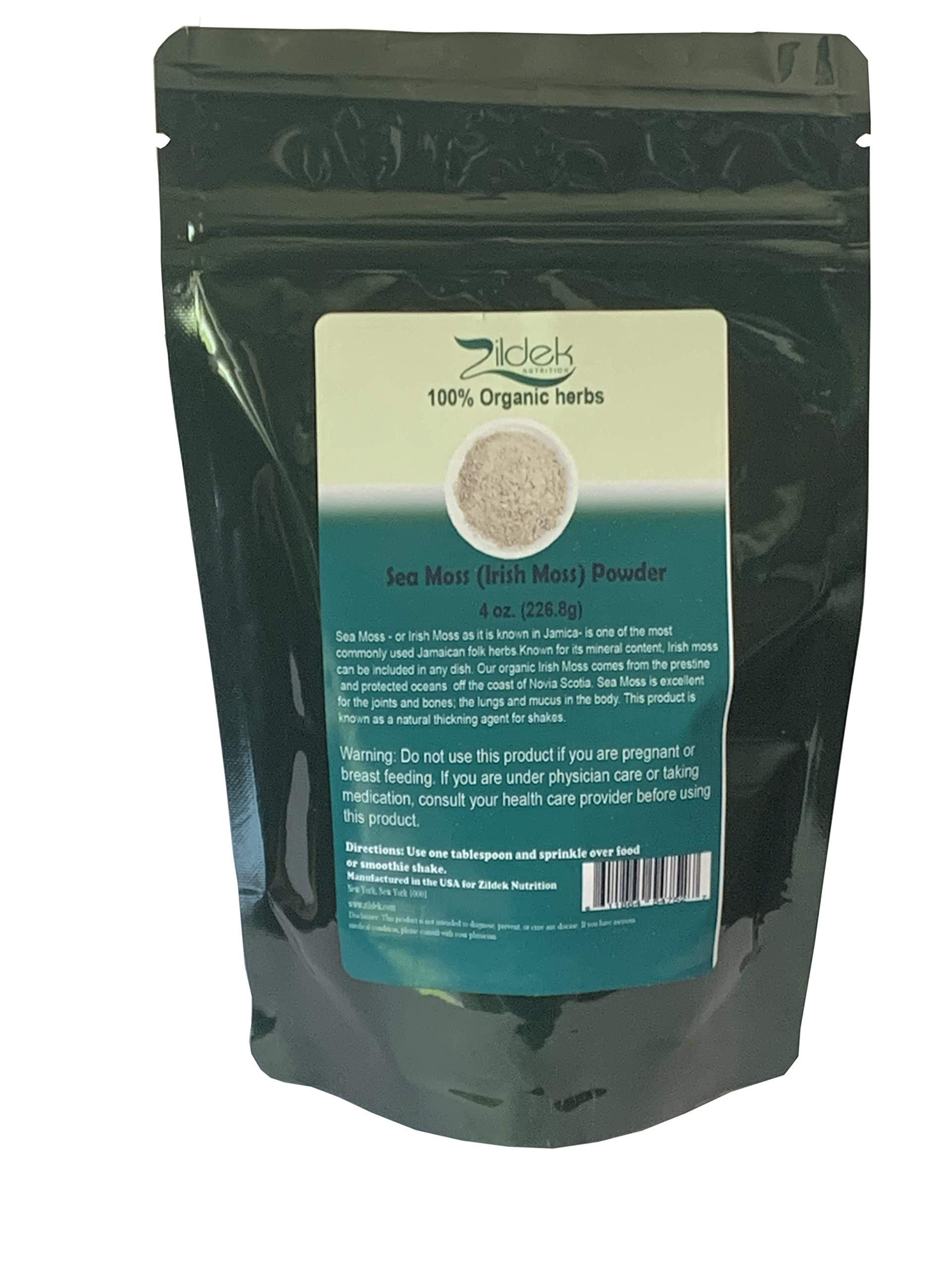 Sea Moss Irish Moss Powder 4 oz