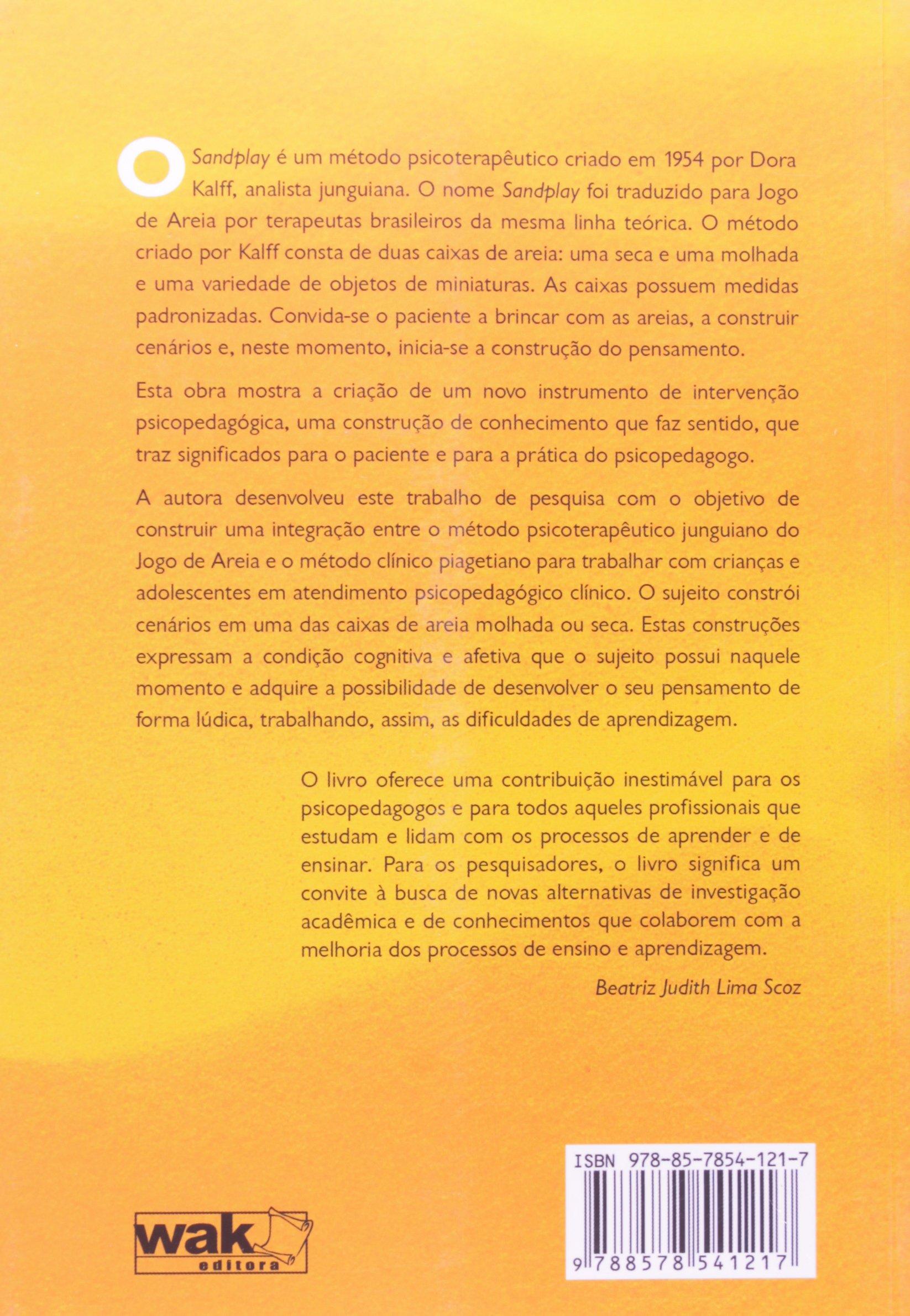 f122ee44d81 Jogo de Areia. Intervenção Psicopedagógica à Luz da Teoria Piagetiana na  Caixa de Areia - 9788578541217 - Livros na Amazon Brasil