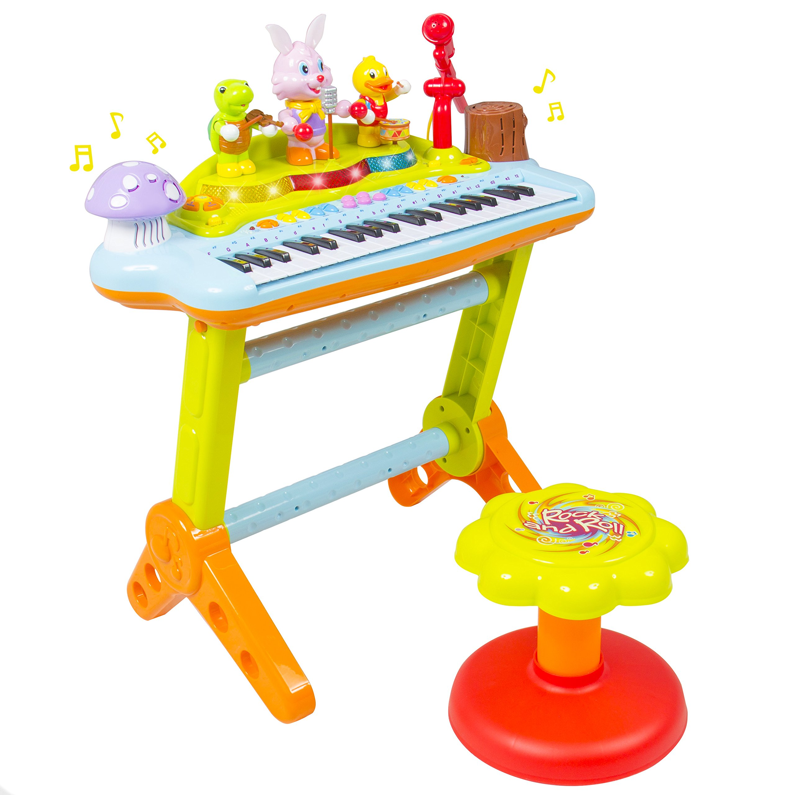 Best Choice Products Kids Musical Electronic Keyboard Piano Organ Microphone